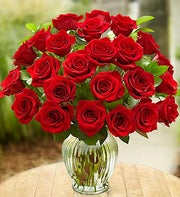 24 Red Roses for Rakhi