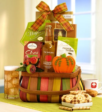 Shades of Autumn Gourmet Gift Basket