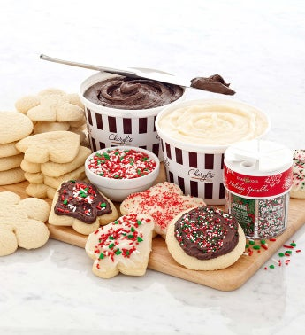Cheryl's Holiday Cutout Cookie Decorating Kit