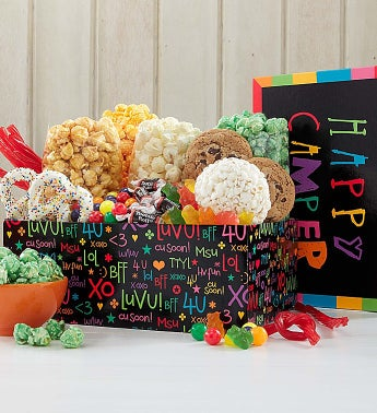 The Popcorn Factory� Happy Campler Sampler