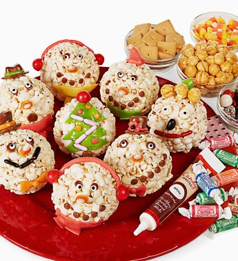 The Popcorn Factory�  Ball Decorating Kit
