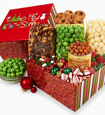 The Popcorn Factory� Merry Christmas Sampler
