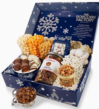 The Popcorn Factory� Snowy Night Snacker's Choice