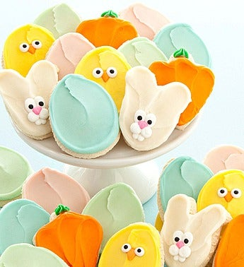 Cheryl's Frosted Easter Cutouts