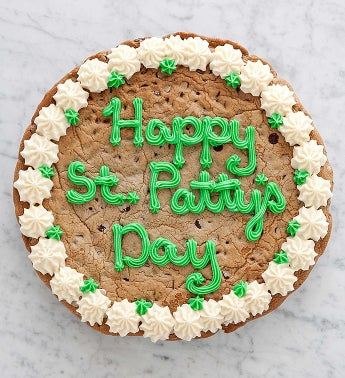 Cheryl?s St Patricks Day Choc Chip Party Cookie