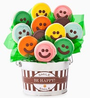 Cheryl's Happy Face Cookie Flower Pot