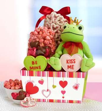 Pucker Up! Valentine Sweets Basket