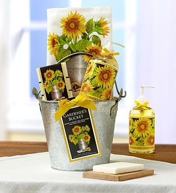 Sunflower Kitchen Spa Gift Basket