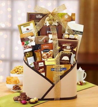 Modern Elegance Gourmet Gift Basket