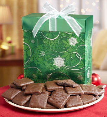 Rich Fudge Mint Cookies in Green Box