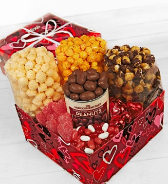 The Popcorn Factory� Graffiti Hearts Sampler