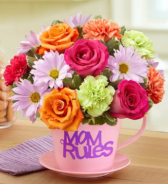 Mom Rules Bouquet?