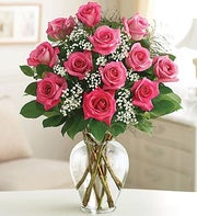 Rose Elegance? Premium Long Stem Pink Roses