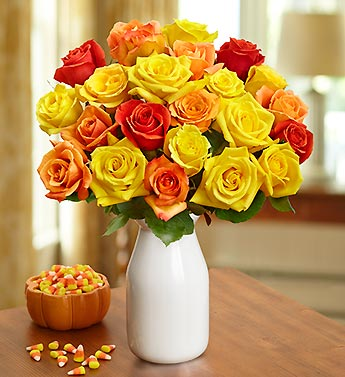 Candy Corn Roses