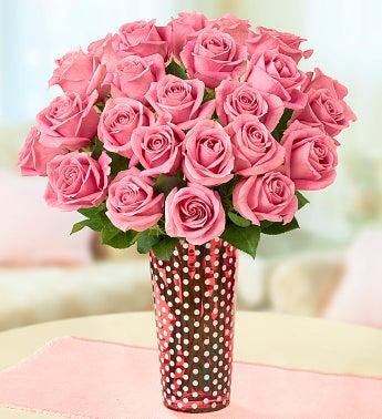 Pink Petal Roses, 12-24 Stems