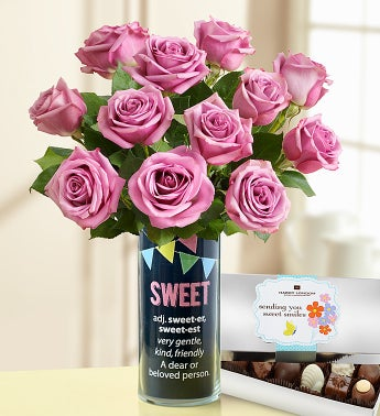 Sweetest Day Sweet Bouquet + Chocolate