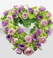Lilac & Lavender Heart