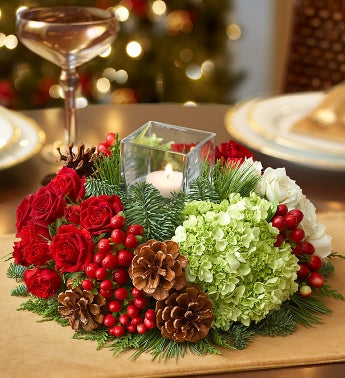 Very Merry Modern Centerpiece?
