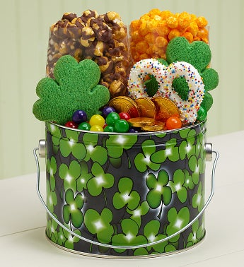 The Popcorn Factory� Shamrock Treat Pail