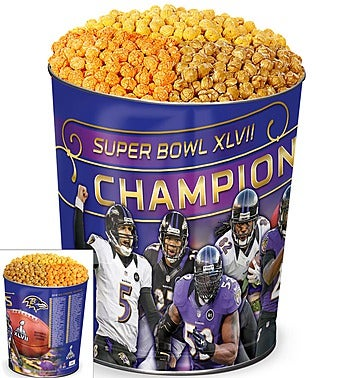 Baltimore Ravens� Super Bowl XLVII� Popcorn Tin