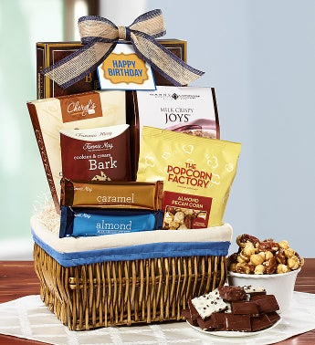 Happy Birthday Sweet Indulgences Basket
