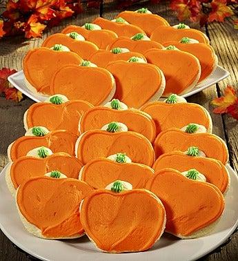 Cheryl's Pumpkin Cutout Cookies