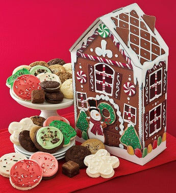 Cheryl's Gingerbread Cookie House