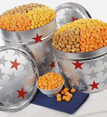 The Popcorn Factory� All Star  3-Flavor Popcorn
