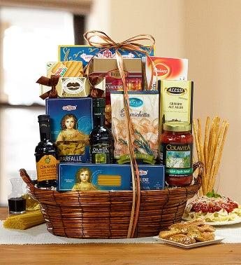 Deluxe Cucina Rustica Italian Gift Basket