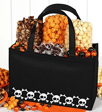 The Popcorn Factory� Skulls Tote Bag