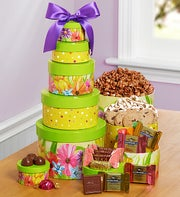 Happy Mothers Day Spring Greetings Gift Tower