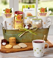 Tea For Two Basket Featuring The Republic of Tea�
