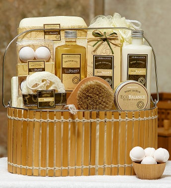 Warm Vanilla Relaxation Spa Basket