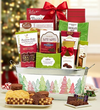 Winter Celebration Gift Basket