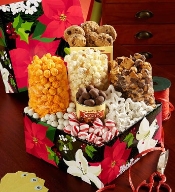 The Popcorn Factory� Winter Floral Sampler