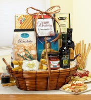 Bon Appetit Happy Birthday Italian Basket Grd