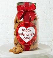 Happy Valentines Day! Chocolate Chip Cookie Jar