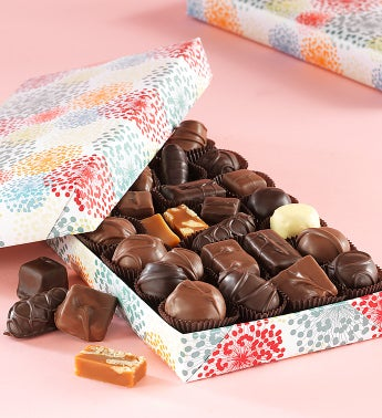 Fannie May Spring Floral Asst Chocolates 1 lb