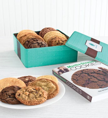 20 assorted chewy cookies in keepsake tin