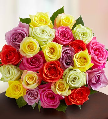 ASSORTED ROSES - 24 Stems