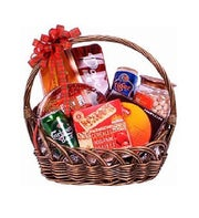 Beer and Snacks Gift Baskets