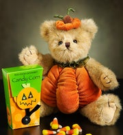 Tricky Treat Bearington�  Bear with Candy Corn