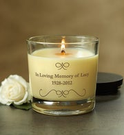 Personalized Remembrance Woodwick� Candle