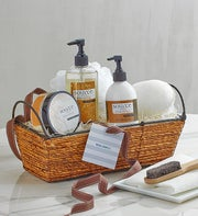 Vanilla Bliss Spa Basket by Real Simple�