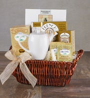 Time To Relax Tea & Teapot Gift Basket