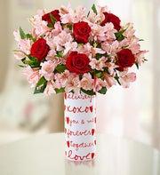True Love Rose & Peruvian Lily