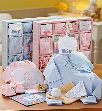 Baby's First Year Gift Set