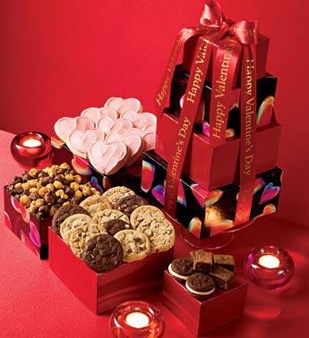 Cheryl&Co. Valentine's Snack Tower