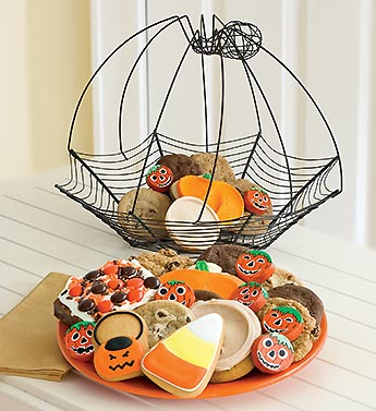 spider web cookie basket