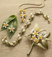 Orange Blossom Jewelry Collection